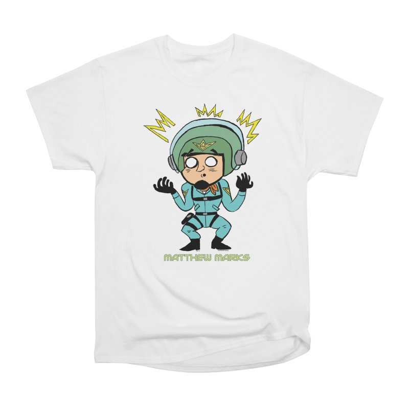 Matthew Marks Surprised Women's Heavyweight Unisex T-Shirt by The Official Bustillo Publishing Shop