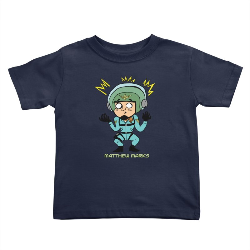 Matthew Marks Surprised Kids Toddler T-Shirt by The Official Bustillo Publishing Shop