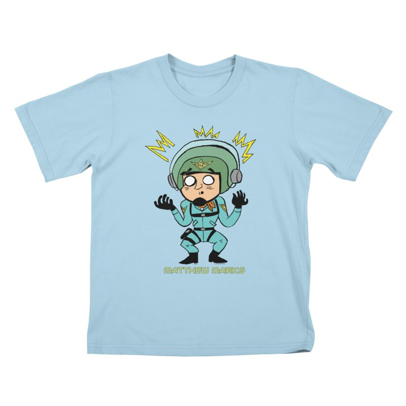 Matthew Marks Surprised Kids T-Shirt by The Official Bustillo Publishing Shop