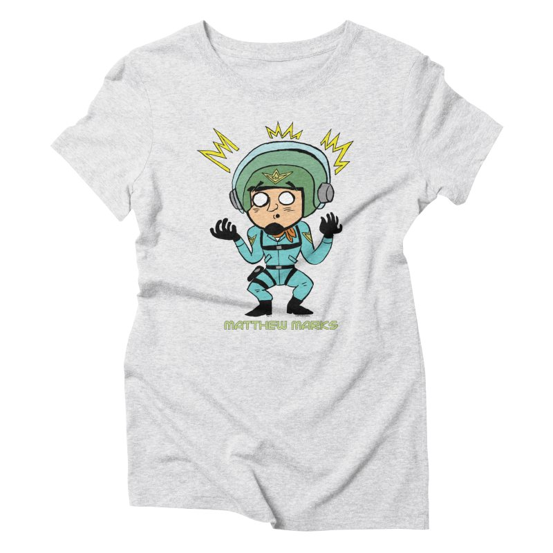 Matthew Marks Surprised Women's T-Shirt by The Official Bustillo Publishing Shop