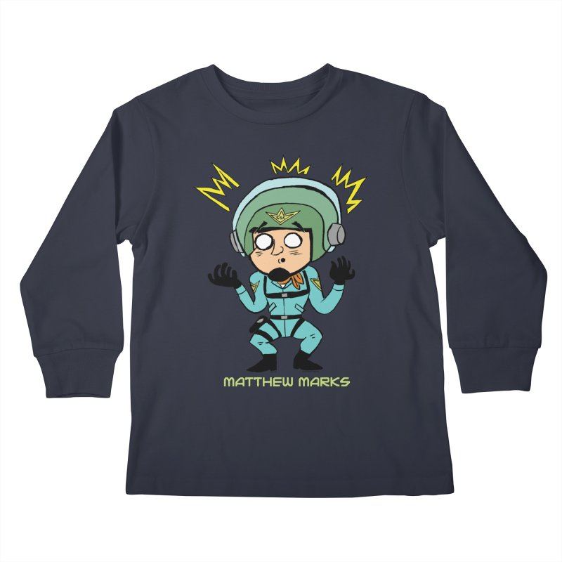 Matthew Marks Surprised Kids Longsleeve T-Shirt by The Official Bustillo Publishing Shop