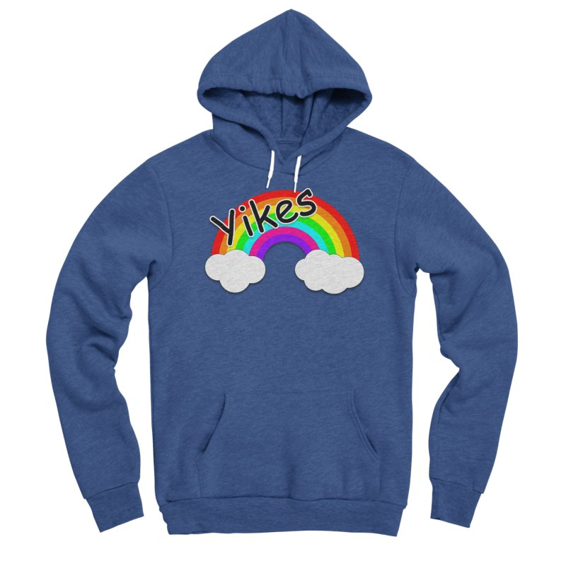 Yikes The Rainbow Women's Pullover Hoody by busybee apparel