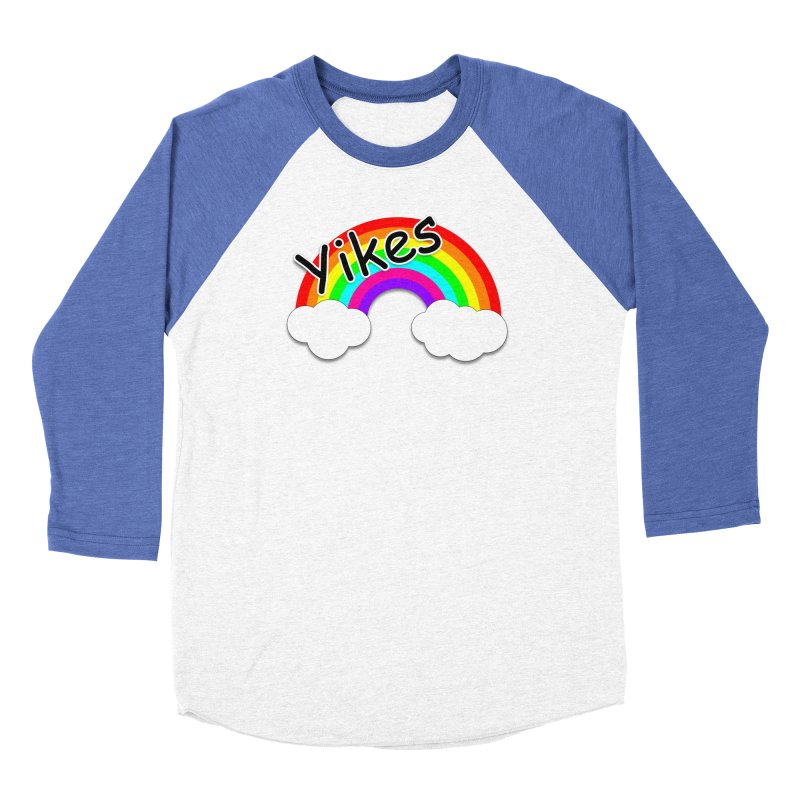 Yikes The Rainbow Men's Longsleeve T-Shirt by busybee apparel