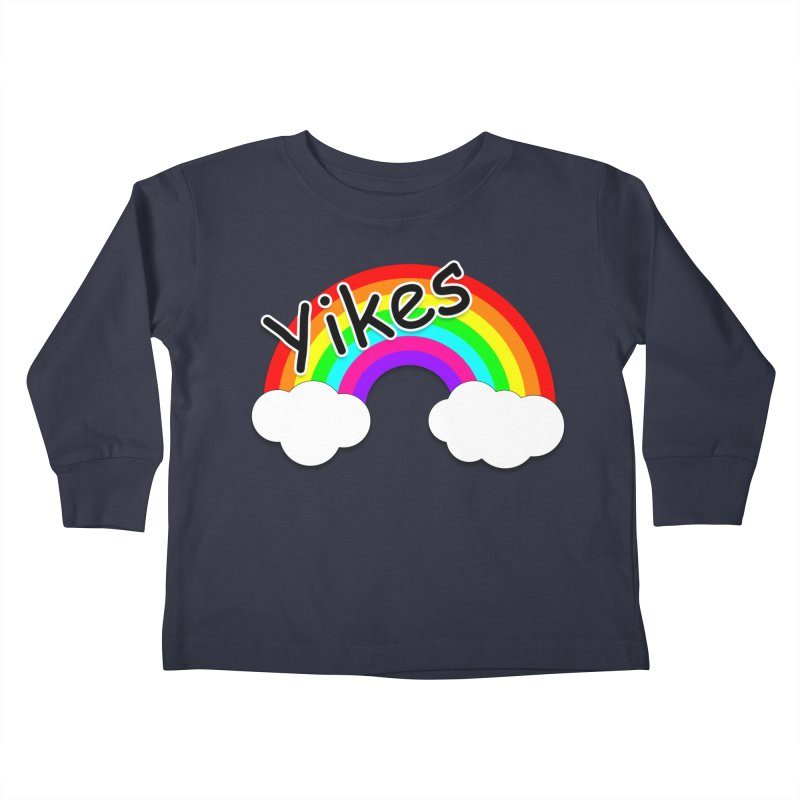Yikes The Rainbow Kids Toddler Longsleeve T-Shirt by busybee apparel