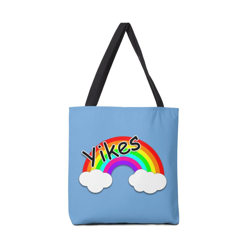 Yikes The Rainbow Accessories Bag by busybee apparel