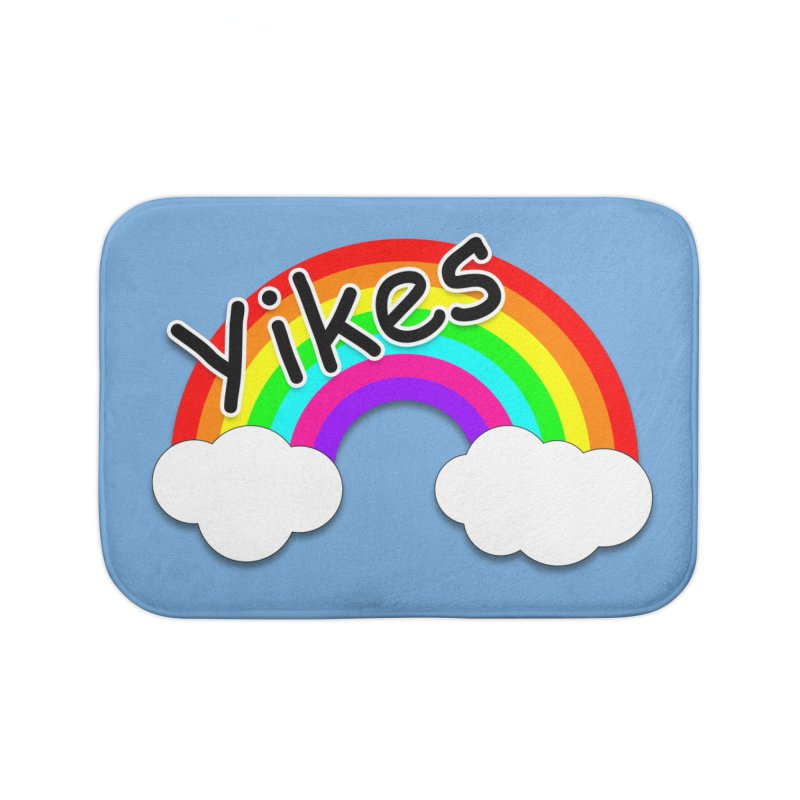 Yikes The Rainbow Home Bath Mat by busybee apparel