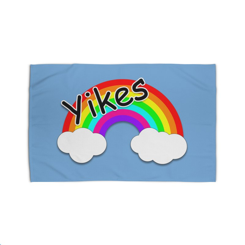 Yikes The Rainbow Home Rug by busybee apparel