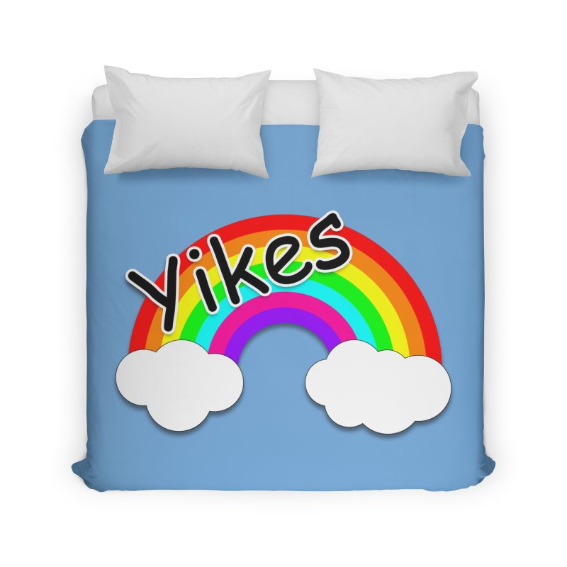 Yikes The Rainbow Home Duvet by busybee apparel