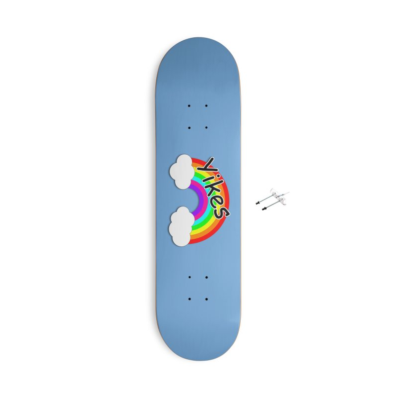 Yikes The Rainbow Accessories With Hanging Hardware Skateboard by busybee apparel