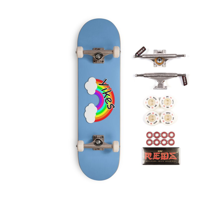 Yikes The Rainbow Accessories Complete - Pro Skateboard by busybee apparel