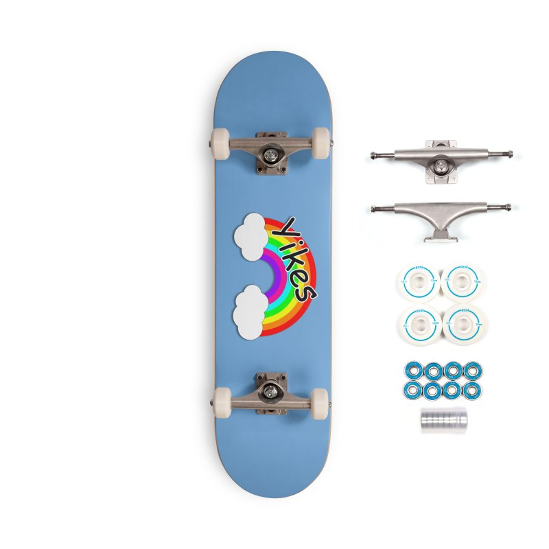Yikes The Rainbow Accessories Complete - Basic Skateboard by busybee apparel