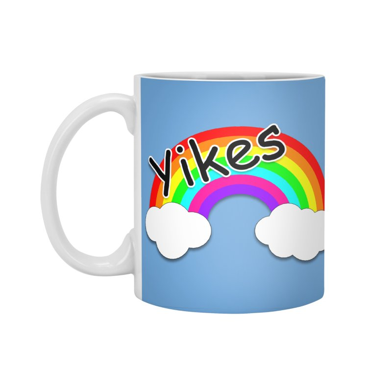 Yikes The Rainbow Accessories Standard Mug by busybee apparel
