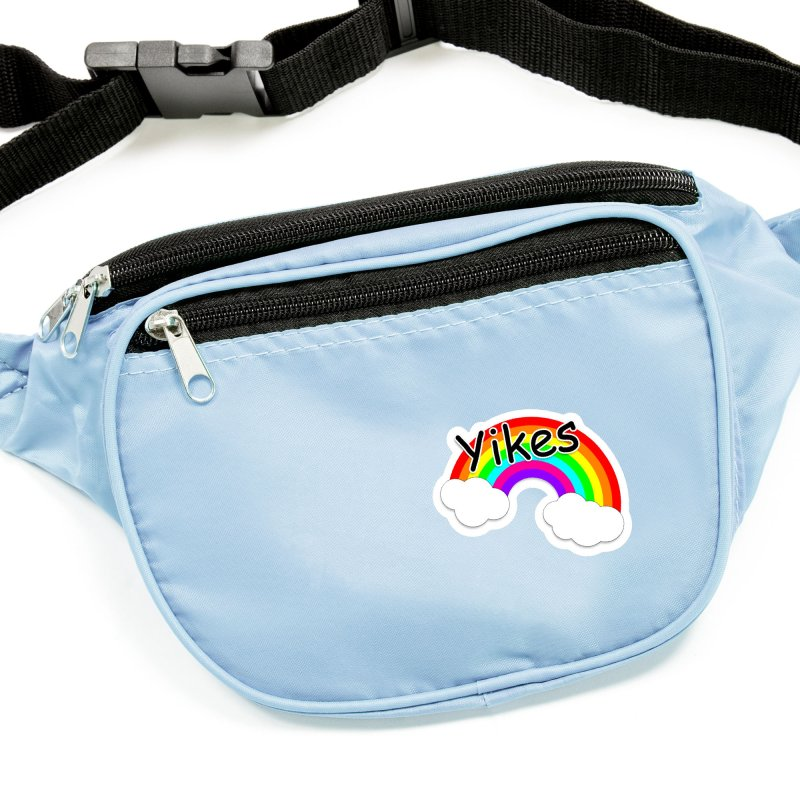 Yikes The Rainbow Accessories Sticker by busybee apparel