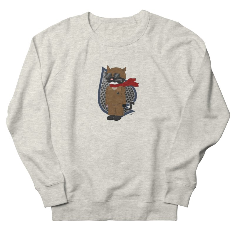 Ace of Spades Men's French Terry Sweatshirt by busybee apparel