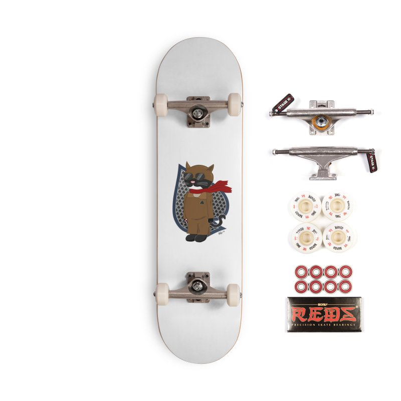 Ace of Spades Accessories Complete - Pro Skateboard by busybee apparel