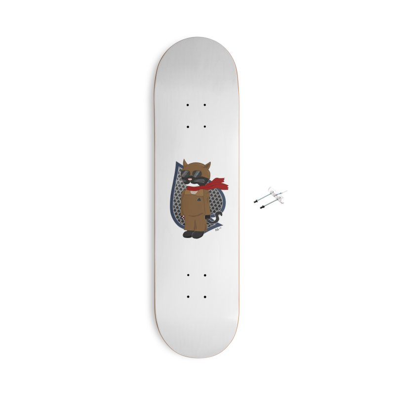 Ace of Spades Accessories With Hanging Hardware Skateboard by busybee apparel