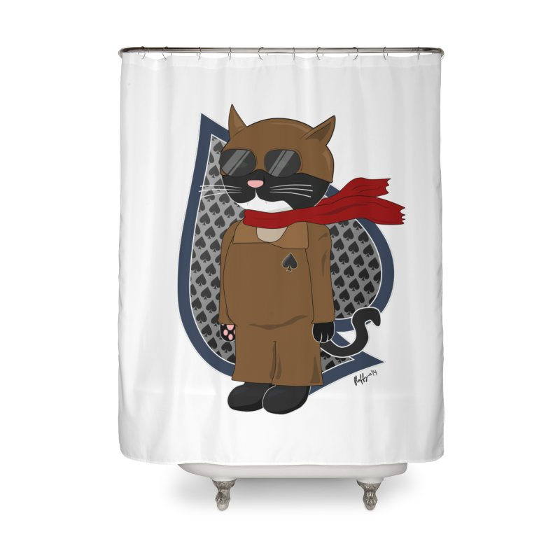 Ace of Spades Home Shower Curtain by busybee apparel