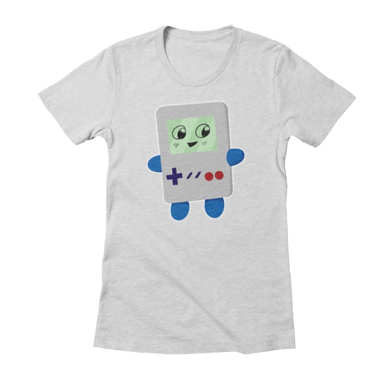 Chibi GB-Chan! Women's Fitted T-Shirt by busybee apparel