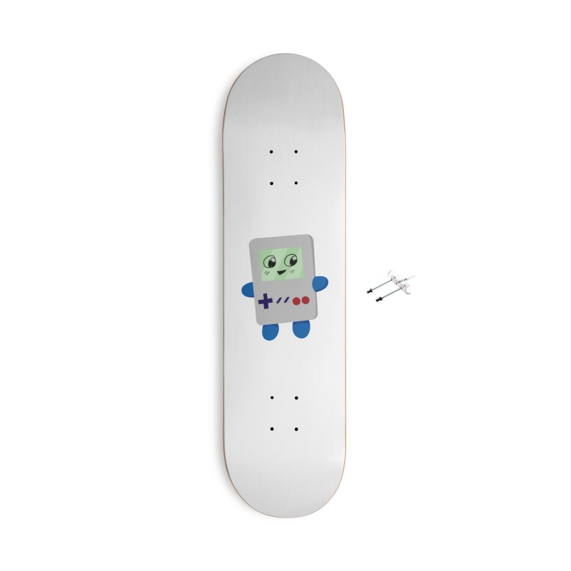 Chibi GB-Chan! Accessories With Hanging Hardware Skateboard by busybee apparel