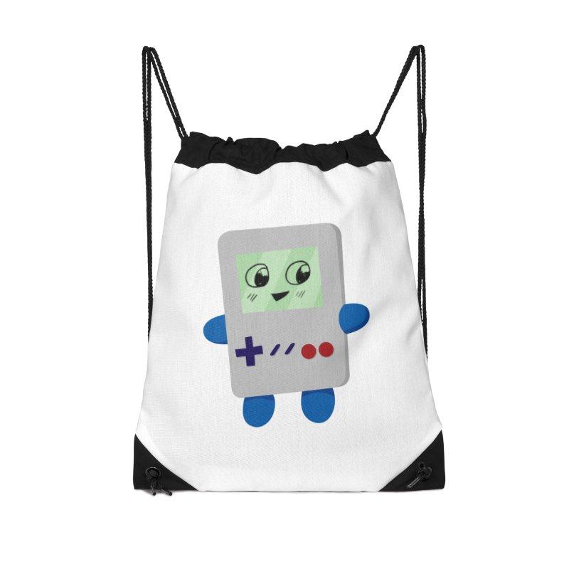 Chibi GB-Chan! Accessories Drawstring Bag Bag by busybee apparel