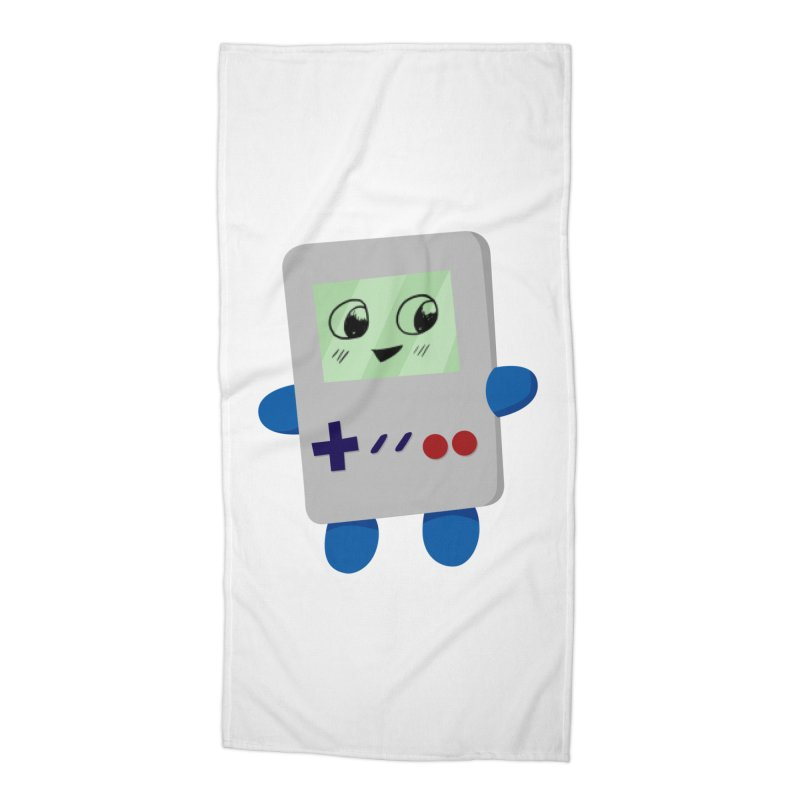 Chibi GB-Chan! Accessories Beach Towel by busybee apparel