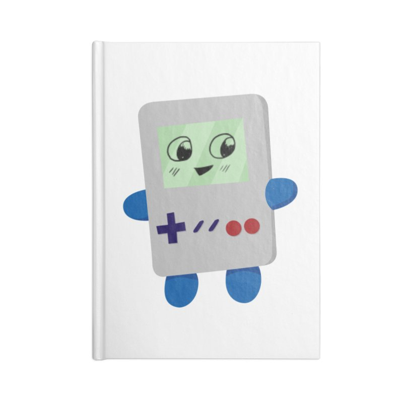 Chibi GB-Chan! Accessories Lined Journal Notebook by busybee apparel