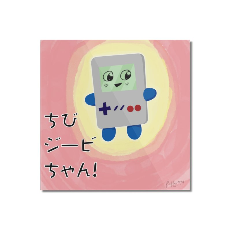 Chibi GB-Chan! Home Mounted Acrylic Print by busybee apparel