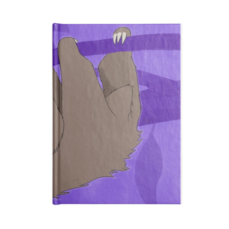 Chill (purple) Accessories Blank Journal Notebook by busybee apparel
