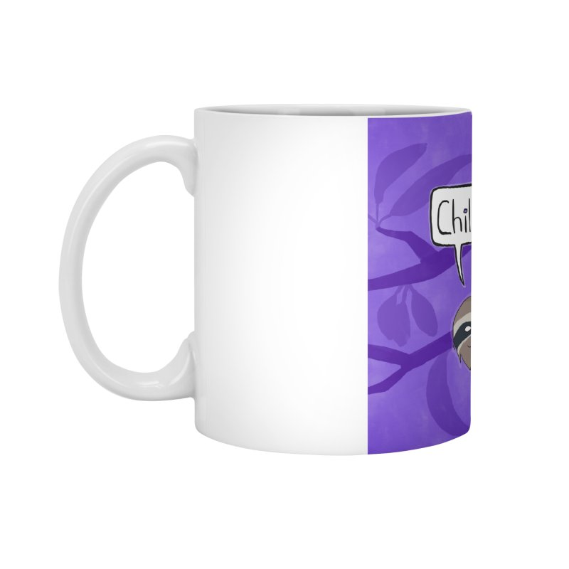 Chill (purple) Accessories Standard Mug by busybee apparel