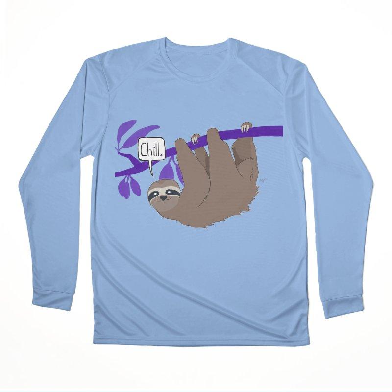 Chill Men's Longsleeve T-Shirt by busybee apparel
