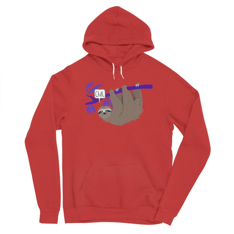 Chill Men's Pullover Hoody by busybee apparel