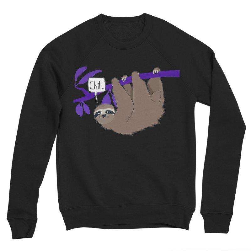 Chill Men's Sponge Fleece Sweatshirt by busybee apparel