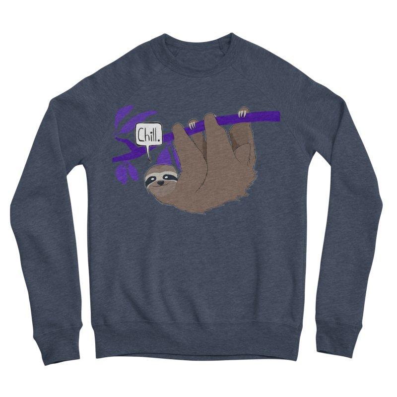 Chill Women's Sponge Fleece Sweatshirt by busybee apparel