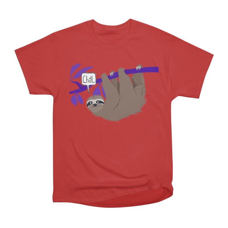 Chill Men's Heavyweight T-Shirt by busybee apparel