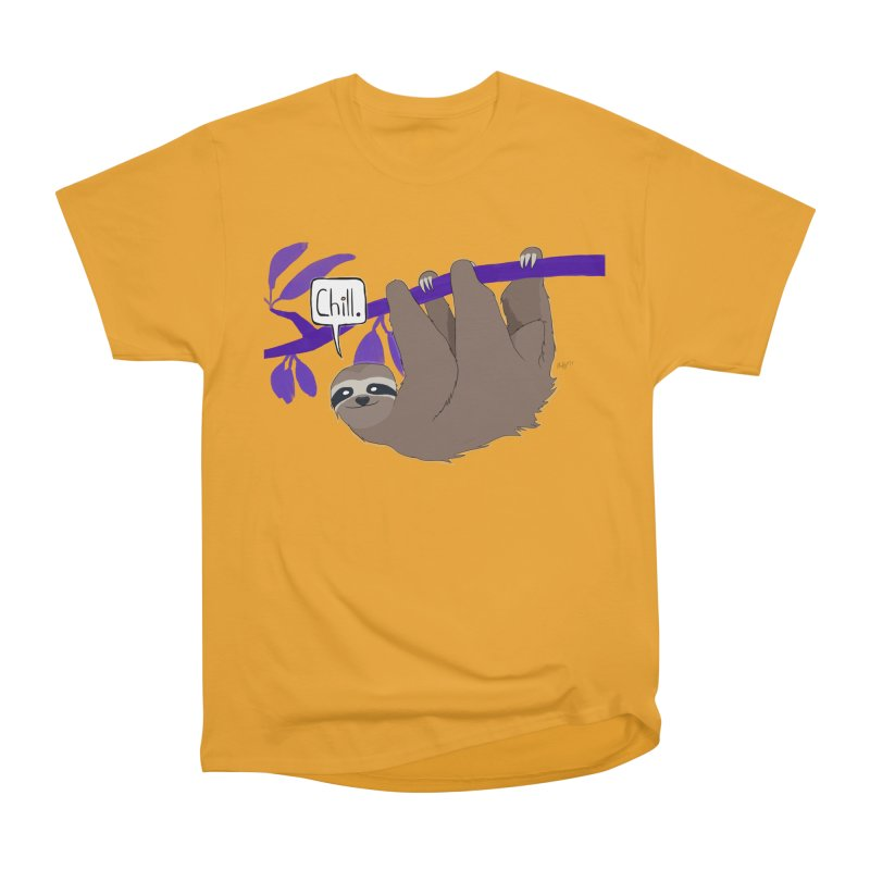 Chill Women's Heavyweight Unisex T-Shirt by busybee apparel