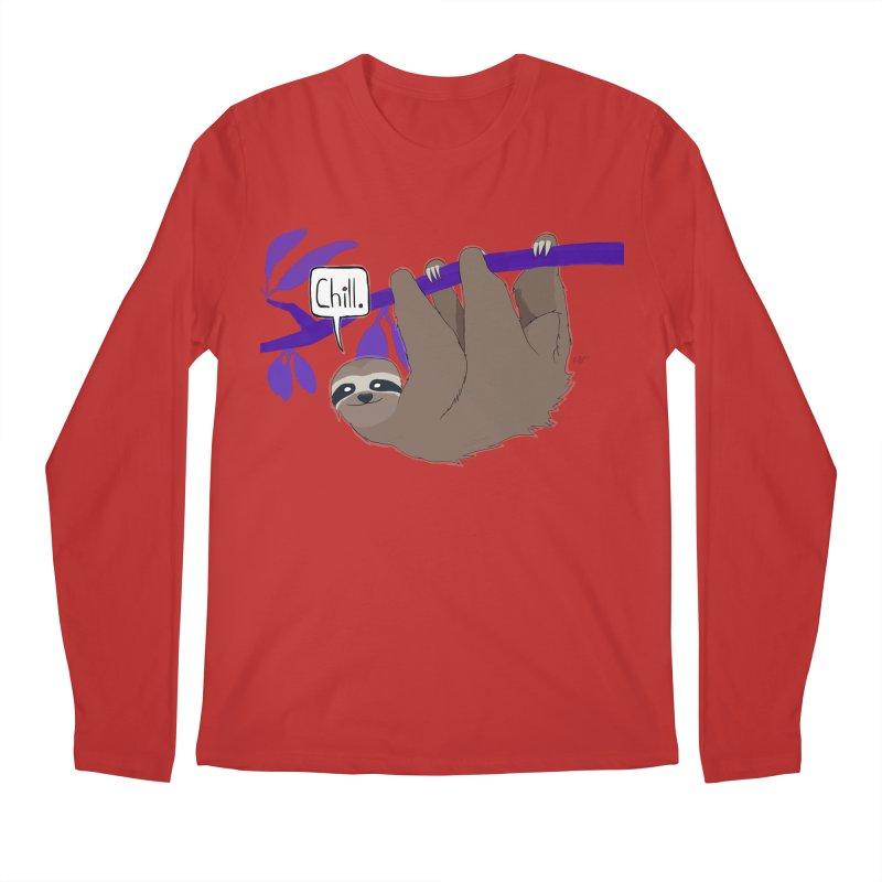 Chill Men's Regular Longsleeve T-Shirt by busybee apparel