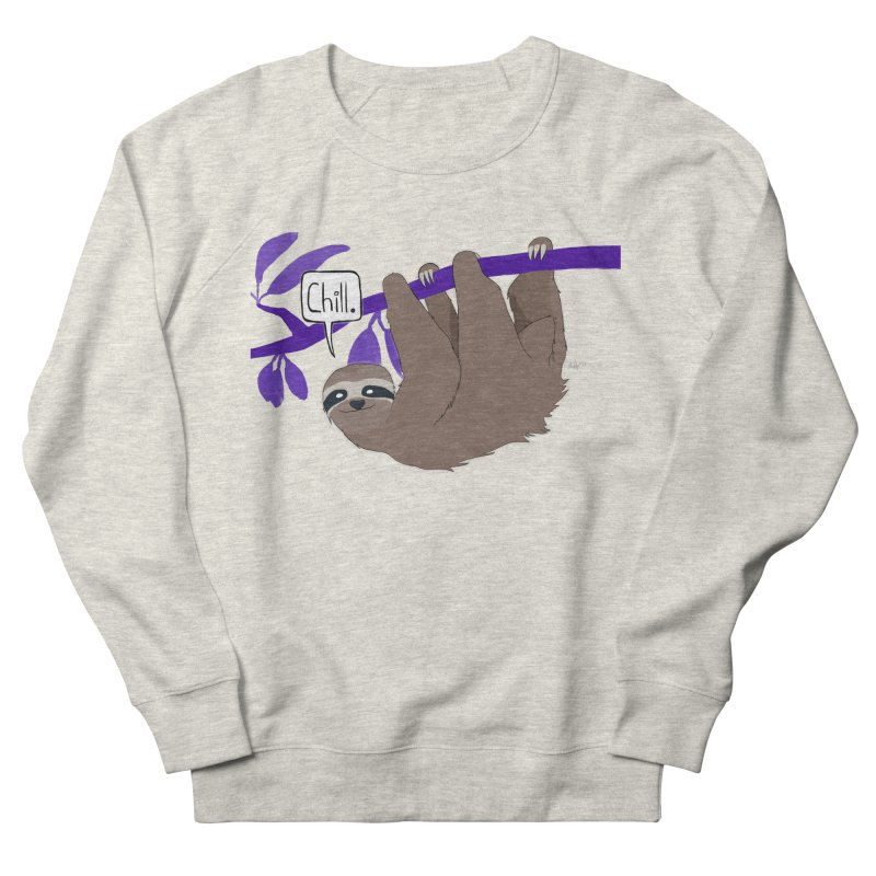 Chill Women's French Terry Sweatshirt by busybee apparel