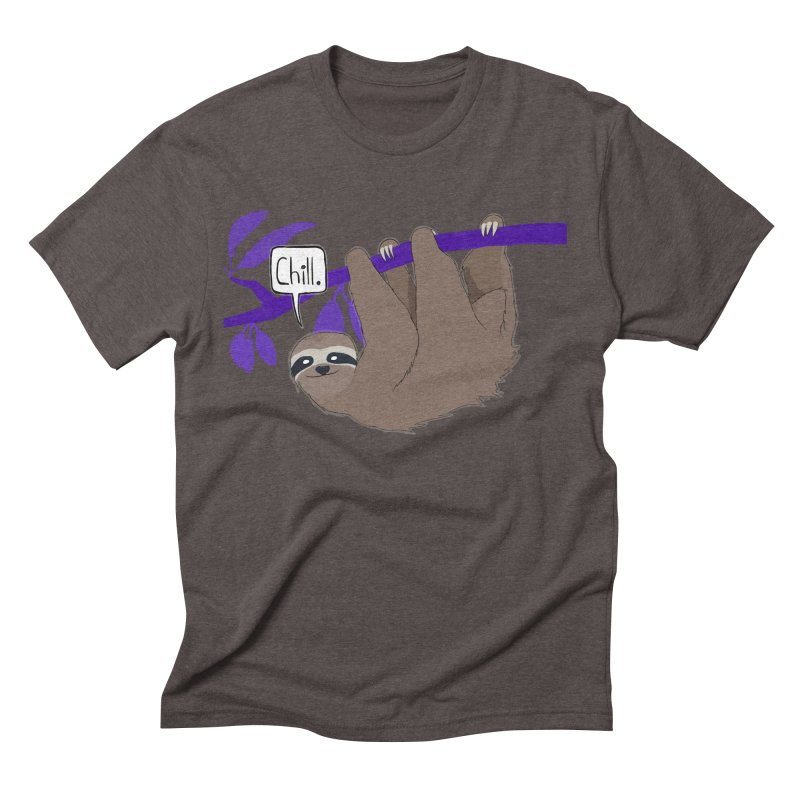 Chill Men's Triblend T-Shirt by busybee apparel