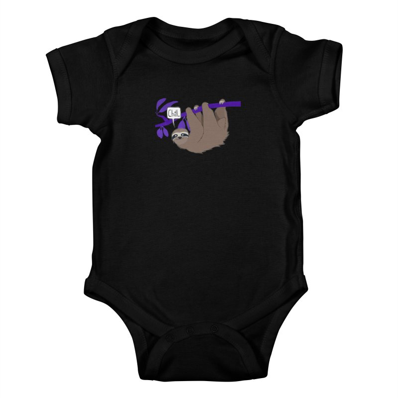 Chill Kids Baby Bodysuit by busybee apparel