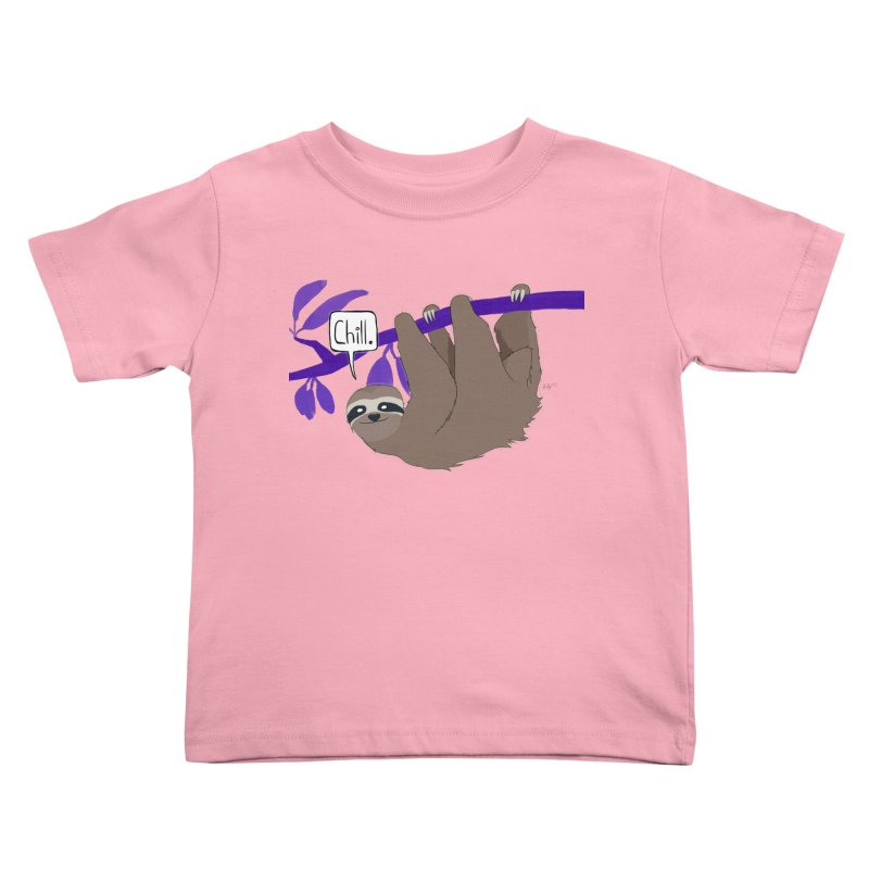 Chill Kids Toddler T-Shirt by busybee apparel
