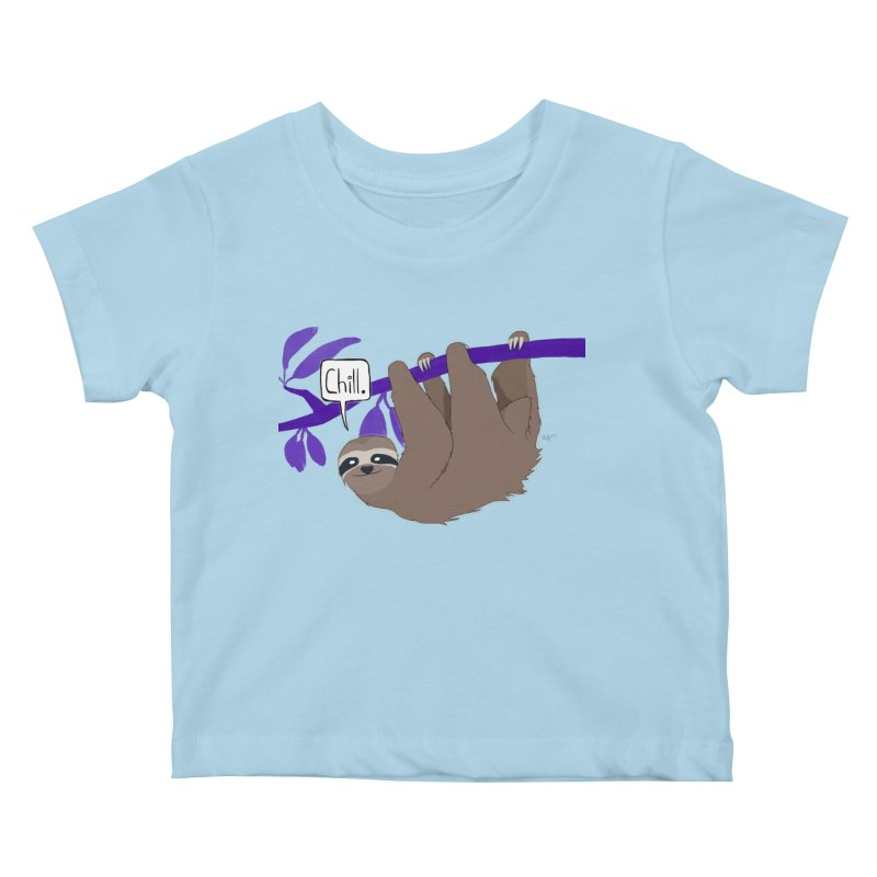 Chill Kids Baby T-Shirt by busybee apparel