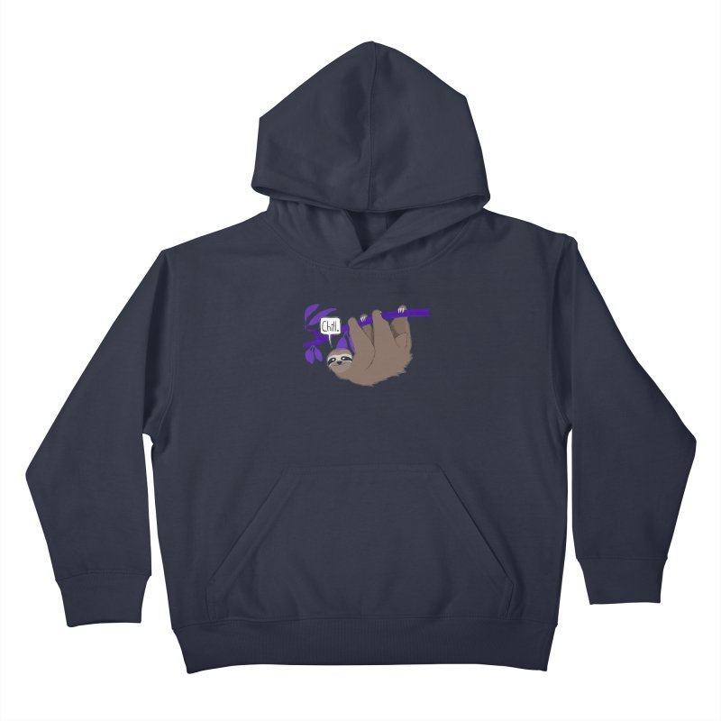 Chill Kids Pullover Hoody by busybee apparel