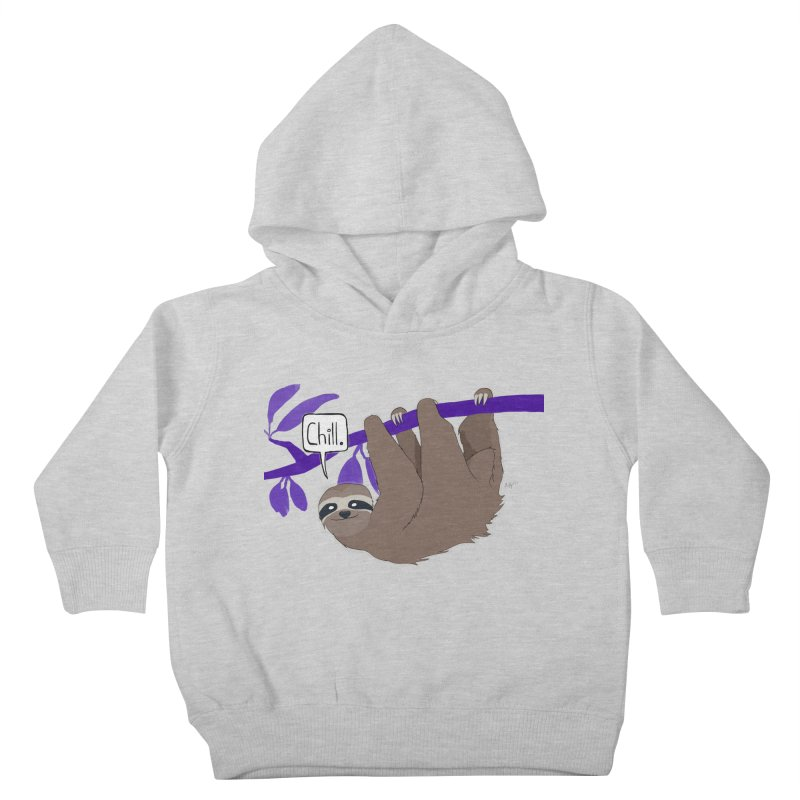 Chill Kids Toddler Pullover Hoody by busybee apparel