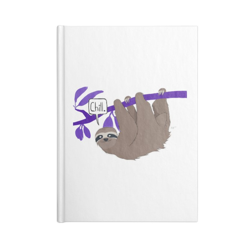 Chill Accessories Lined Journal Notebook by busybee apparel