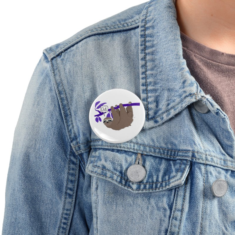 Chill Accessories Button by busybee apparel