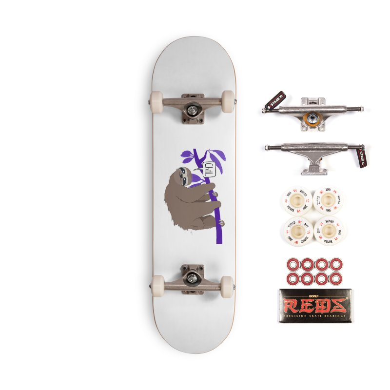 Chill Accessories Complete - Pro Skateboard by busybee apparel