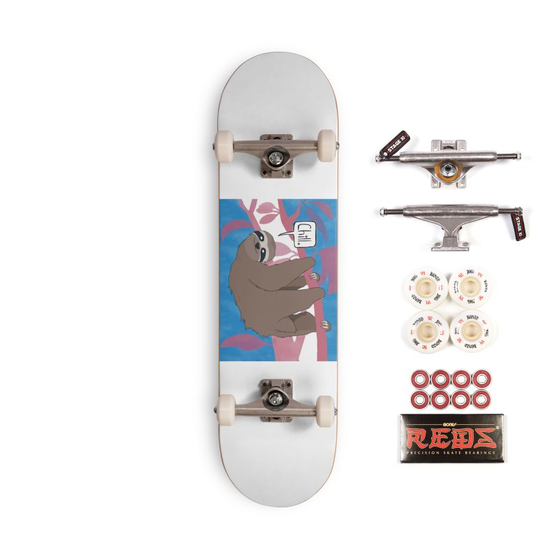 Chill (pink and blue) Accessories Complete - Pro Skateboard by busybee apparel