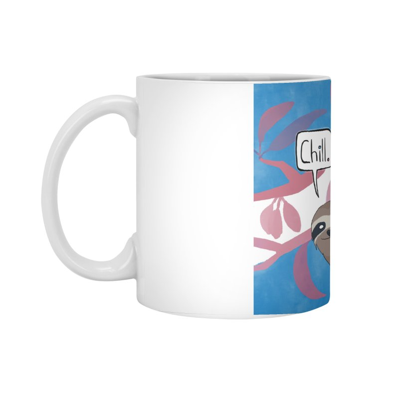 Chill (pink and blue) Accessories Standard Mug by busybee apparel