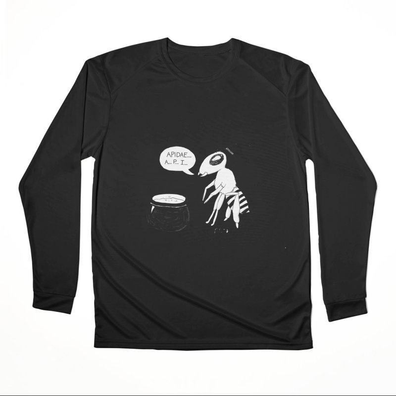 Spelling Bee Men's Performance Longsleeve T-Shirt by busybee apparel