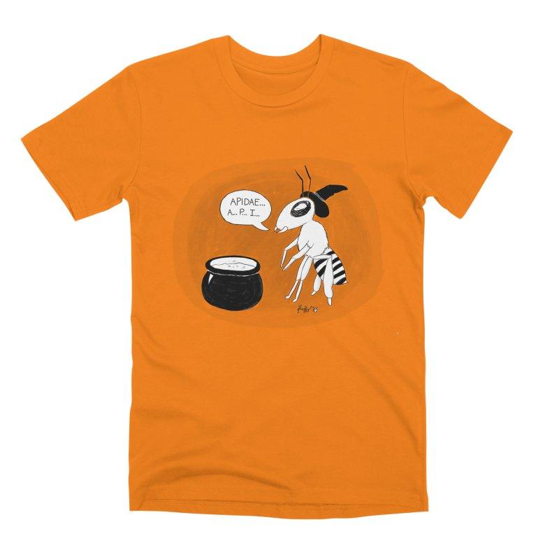 Spelling Bee Men's Premium T-Shirt by busybee apparel
